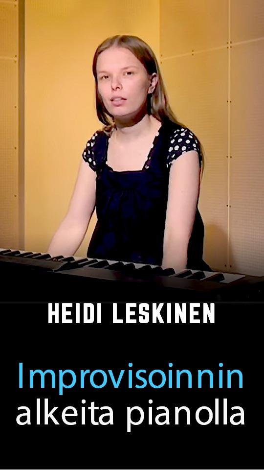 Improvisoinnin alkeita pianolla