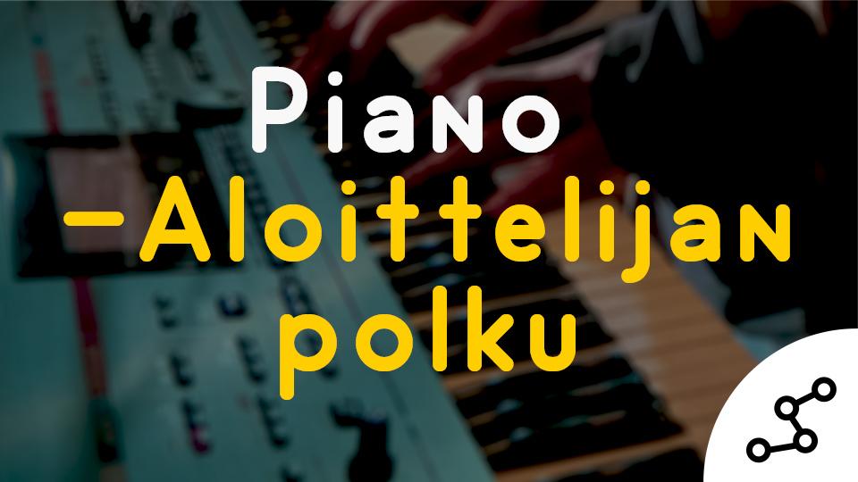 Pianonsoiton alkeet